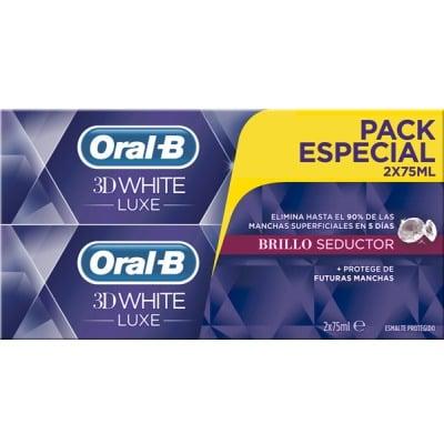 Oral-b ORAL-B 3DWHITE LUX BRILLO SEDUCTOR PACK 2X75ML