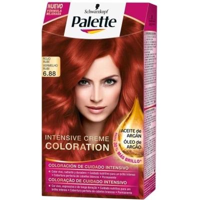 Pallette 10 Tinte palette intensive 6.88 rojo rubi