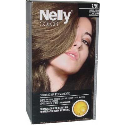 Nelly NELLY COLOR PACK 7/91 MARRÓN CENIZA + CREMA MANOS