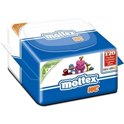 Moltex Toallitas moltex wc pocoyo 120 unidades