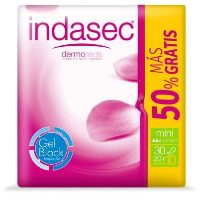 Indasec INDASEC COMPRESAS MINI 20+10
