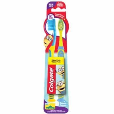 Colgate Cepillo colgate minions 6+ pack 2u