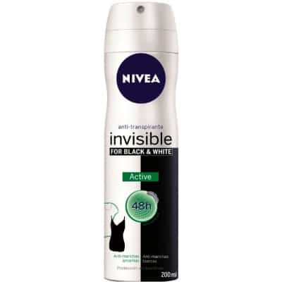 Nivea NIVEA DESODORANTE SPRAY INVISIBLE BLACK & WHITE ACTIVE