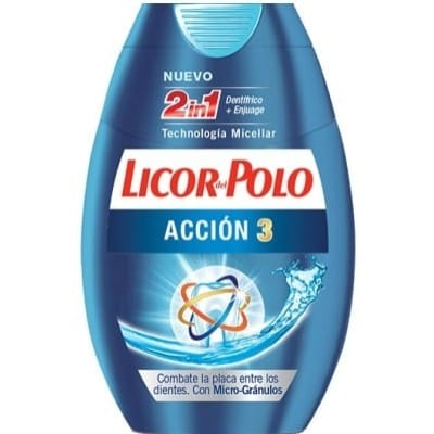 Licor Del Polo Dentífrico 2 En 1 Acción 3