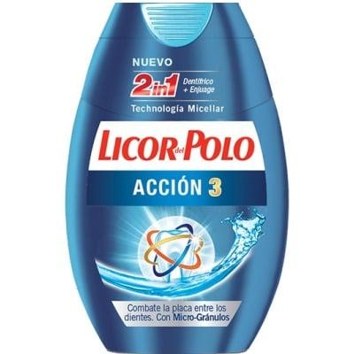 Licor Del Polo Pasta licor del polo 2en1 accion 3 +25ml gratis