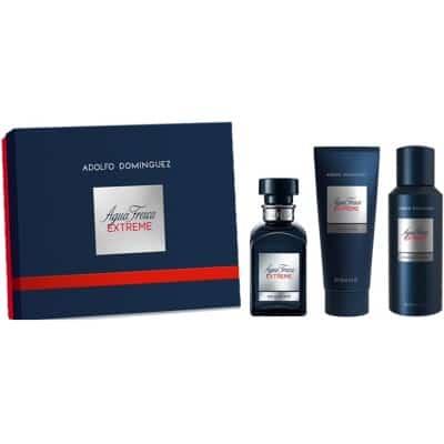 Adolfo Dominguez Estuche Agua Fresca Extreme +Aftershave+Desodorante