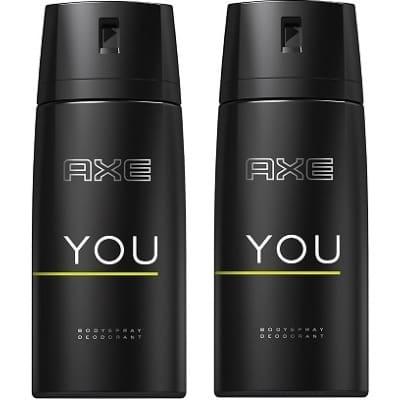 Axe Axe Desodorante Spray Men You Duplo
