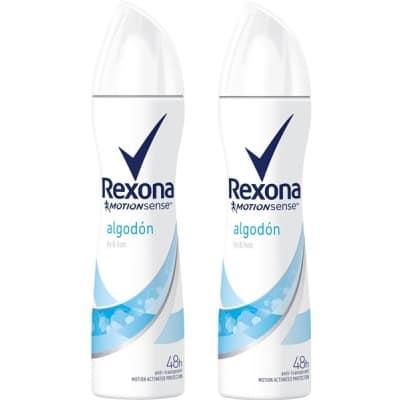 Rexona Rexona desodorante spray algodon duplo