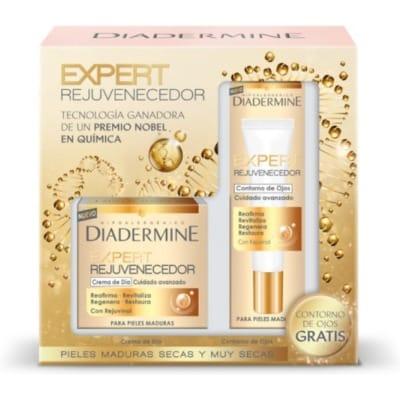 Diadermine Pack Expert Rejuvenecedora Día Contorno Ojos