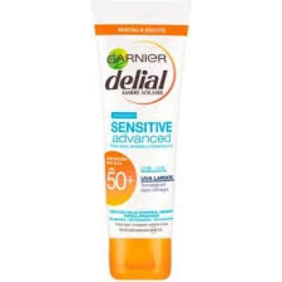 Delial Bronceador Delial Sensitive Daily SPF50