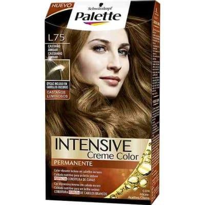 Pallette 10 Tinte palette intense l75 castaño ambar