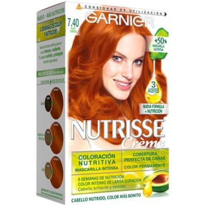 Nutrisse Tinte Capilar 7.40 Copper Passion