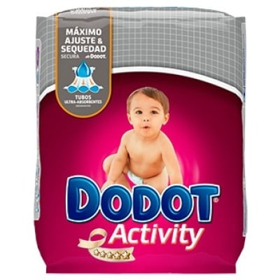 Dodot PAÑAL DODOT ACTIVITY T-3 5-10KG 70U