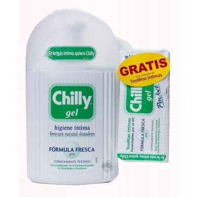 Chilly PACK GEL INTIMO FORMULA FRESCA+ TOALLITAS