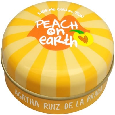 agatha ruiz de la prada vaselina peach on earth kiss me collection agatha ruíz de la prada