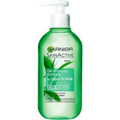 Garnier Gel Limpiador Te Verde Skin Active