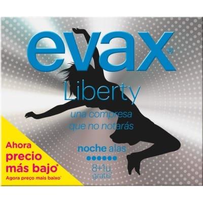 Evax Compresas Evax Liberty Noche Alas