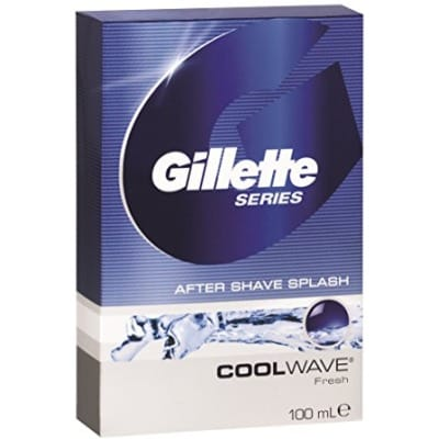 Gillette Aftershave Series Cool Wave Splash