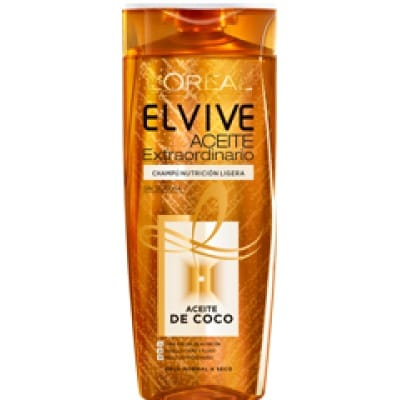 Elvive Champú Aceite de Coco