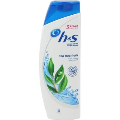 h & s champú anticaspa h&s tea tree fresh