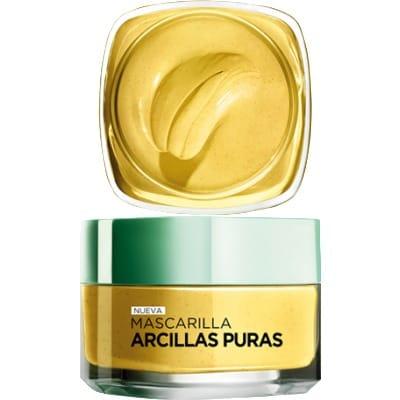Dermo Expertise Mascarilla de Arcilla Amarilla Iluminadora