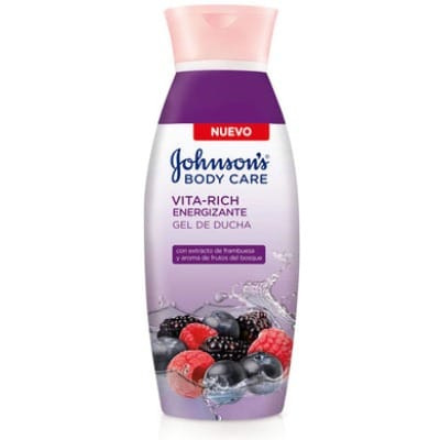 Johnson´s Johnson`s gel Frutos del Bosque Vita-Rich