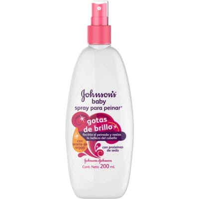 Johnson´s Johnson's Baby Spray para peinar Gotas de Brillo