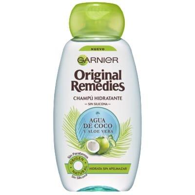 Original Remedies Champú Original Remedies Hidratante de Agua de Coco y Aloe Vera