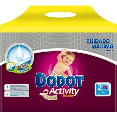 Dodot Duplo Toallitas Activity