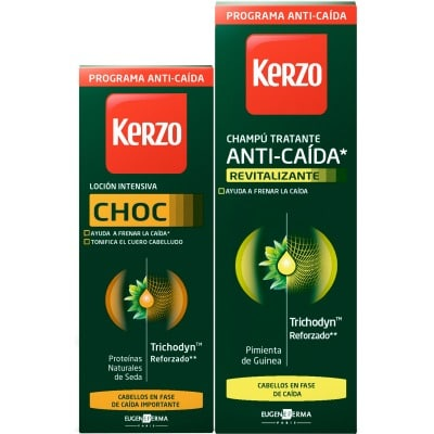 Kerzo Loción capilar anticaída Choc 150 ml. + champú