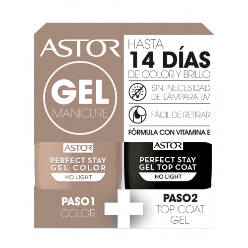 Astor Pack Duo Perfect Stay Top Coat Gel Astor