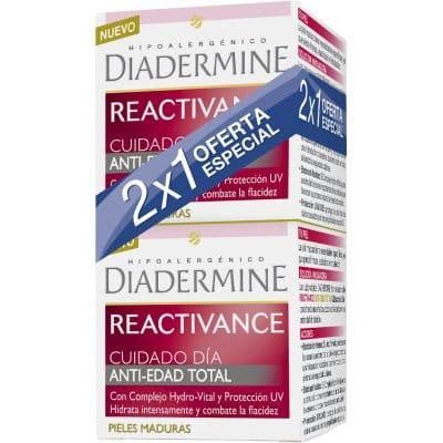 Diadermine Crema de belleza Reactivance Total día pack 2x1