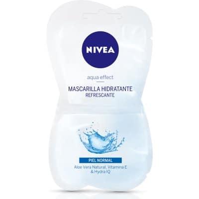Nivea Mascarilla Facial Aqua Effect Hidratante