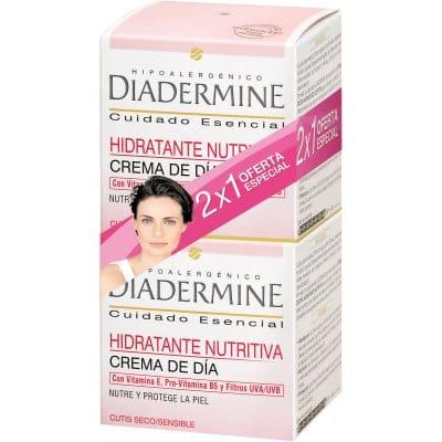 Diadermine Pack 2x1 crema de dia hidratante piel seca-sensible
