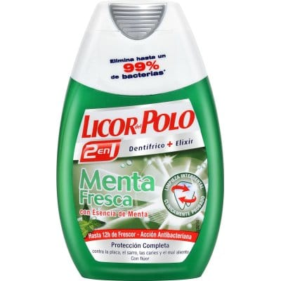 Licor Del Polo Pasta Dental 2 en 1 Menta Fresca