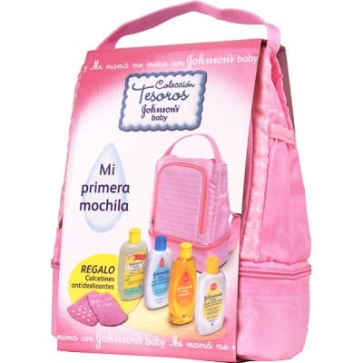 Johnson´s Mochila Rosa Johnson´s Baby