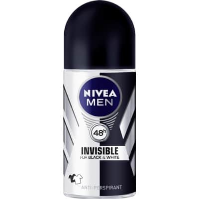 Nivea DESODORANTE FOR MEN ROLL ON BLACK &WHITE