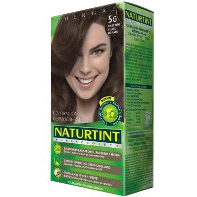 Naturtint Tinte Capilar 5.G Castaño Claro Dorado