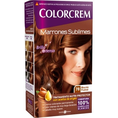 Colorcrem TINTE CAPILAR,78 MARRON PRALINE