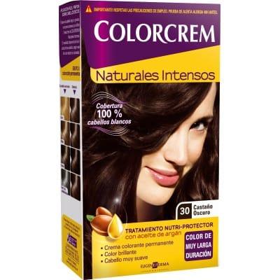 Colorcrem TINTE CAPILAR,30 CASTAÑO OSCURO