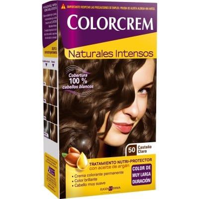 Colorcrem TINTE CAPILAR,50 CASTAÑO CLARO