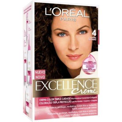Excellence Tinte Excellence Creme 4 Castaño