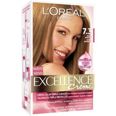 Excellence Tinte excellence creme 7.3 rubio dorado