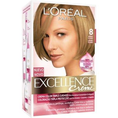 Excellence Tinte excellence creme 8 rubio claro