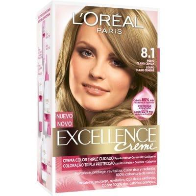 Excellence Tinte excellence creme 8.1 rubio claro ceniza