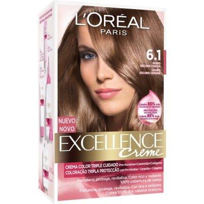 Excellence Tinte Excellence Creme 6.1 Rubio Oscuro Ceniza