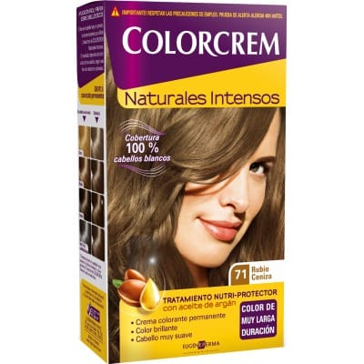 Colorcrem TINTE CAPILAR,71 RUBIO CENIZA