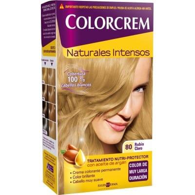 Colorcrem TINTE CAPILAR,80 RUBIO CLARO