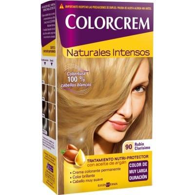 Colorcrem TINTE CAPILAR,90 RUBIO CLARISIMO