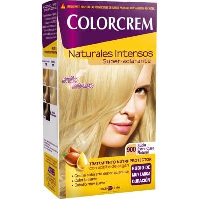 Colorcrem TINTE CAPILAR,900 RUBIO CLARO NATURAL